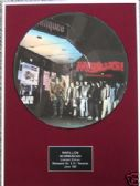 "MARILLION- Framed 12"" Picture Disc - INCOMMUNICADO"